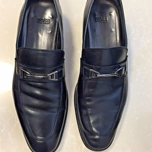Hugo Boss Men's Horsebit Loafer Dress Shoes Sz9